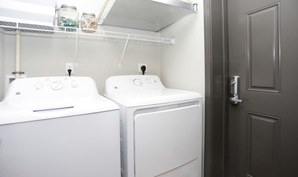 in-unit laundry at Springs at Knapp's Crossingin Grand Rapids