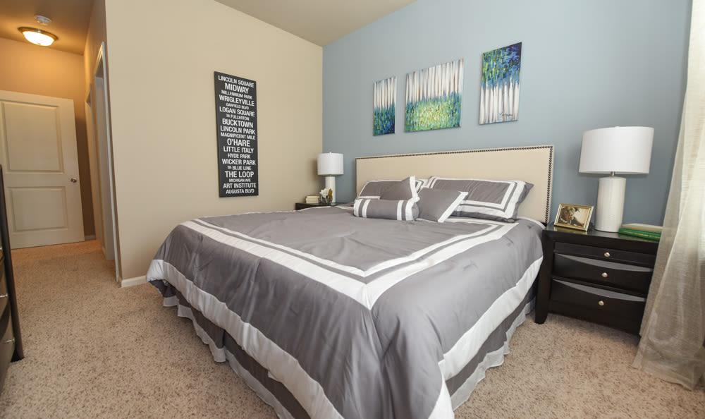 Bedroom at Springs at South Elgin in South Elgin