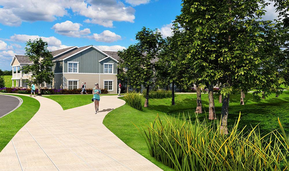 green spaces at Springs at Sun Prairie