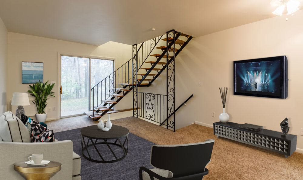 Beautifully designed floor plans at Elmwood Terrace Apartments and Townhomes
