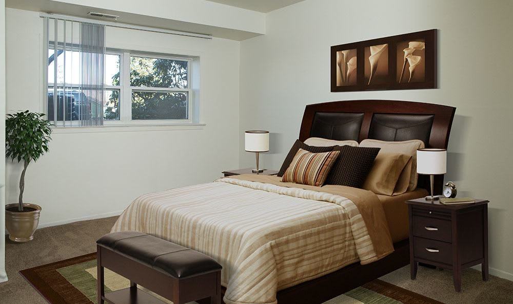 Bedroom at Hillcrest Village