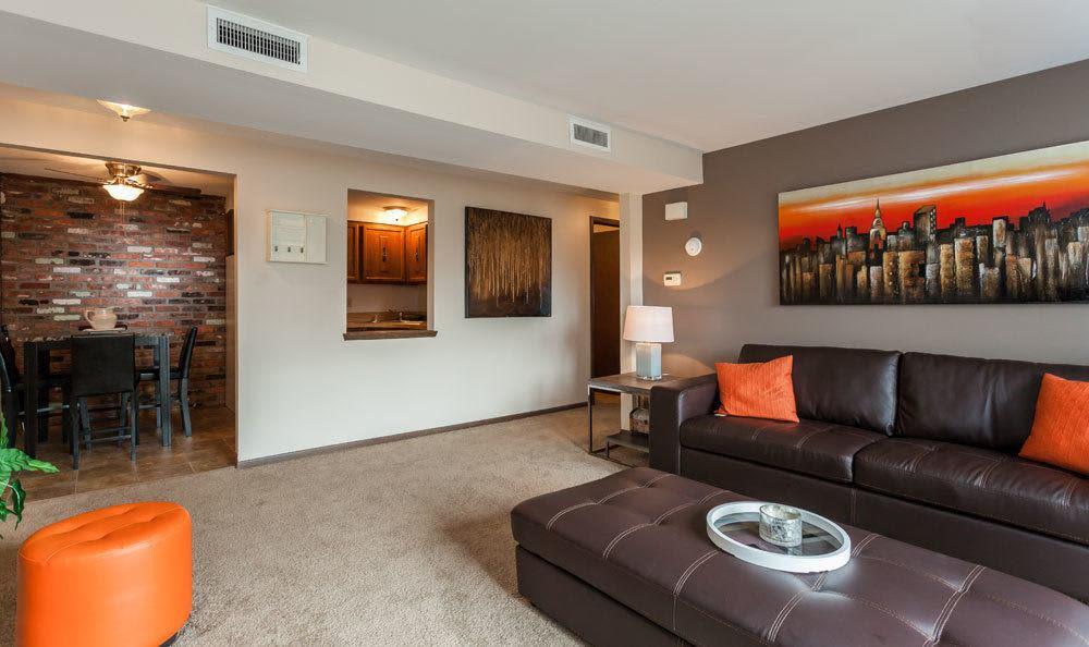 Ample living space at Raintree Island Apartments in Tonawanda, NY