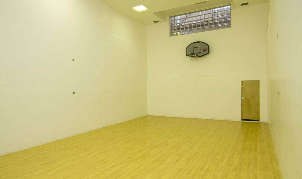 Indoor basketball court at Raintree Island Apartments