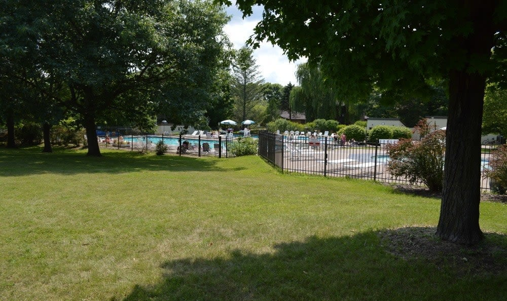 Poolside at Riverton Knolls in West Henrietta, NY