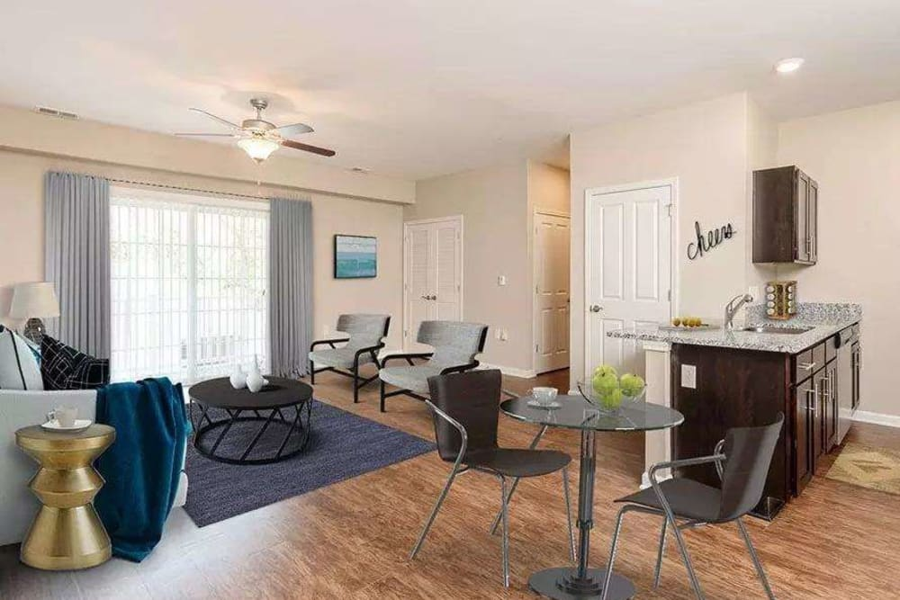 Ample living space at Canal Crossing in Camillus
