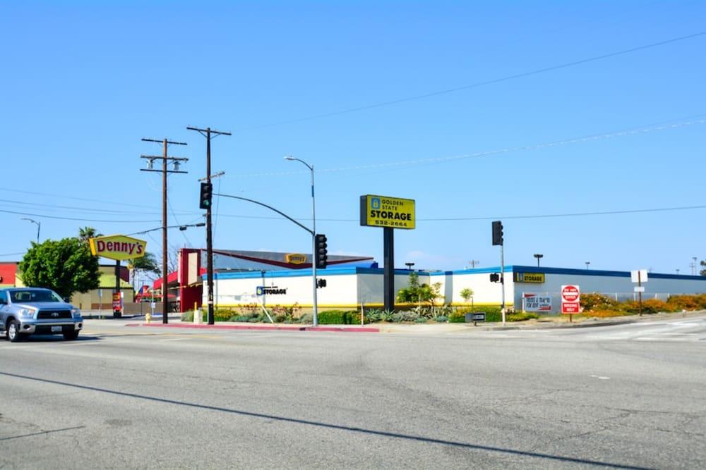 Street view of Golden State Storage in Gardena