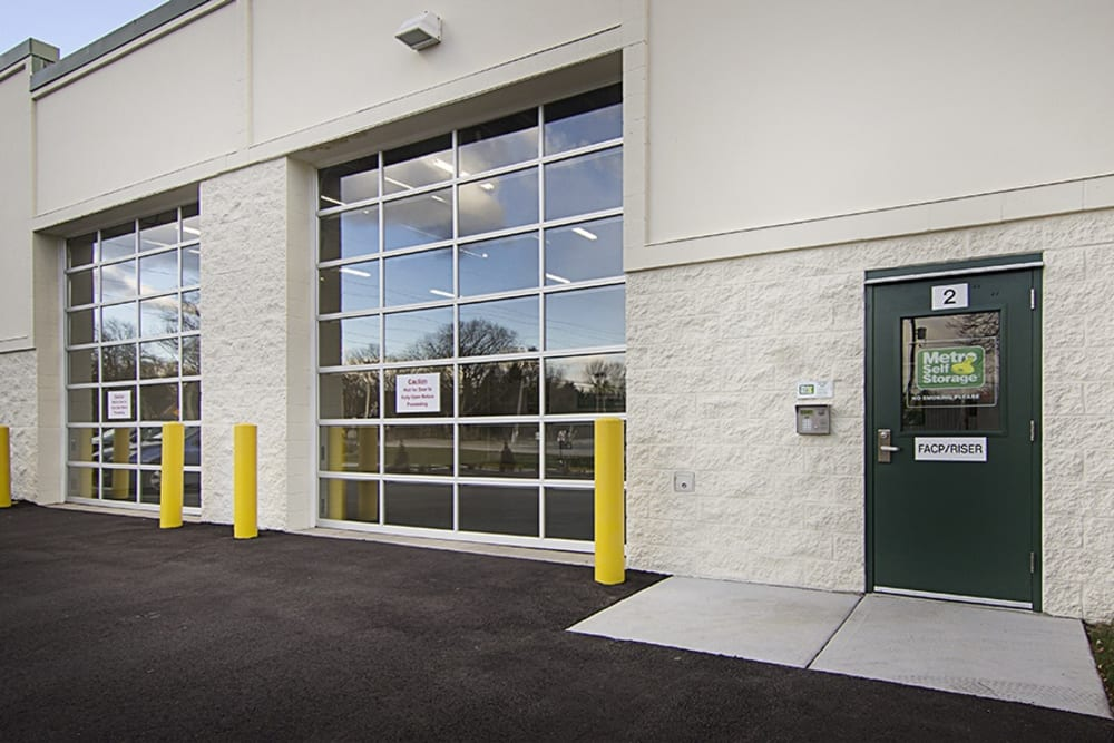 Metro Self Storage Exterior Access Doors
