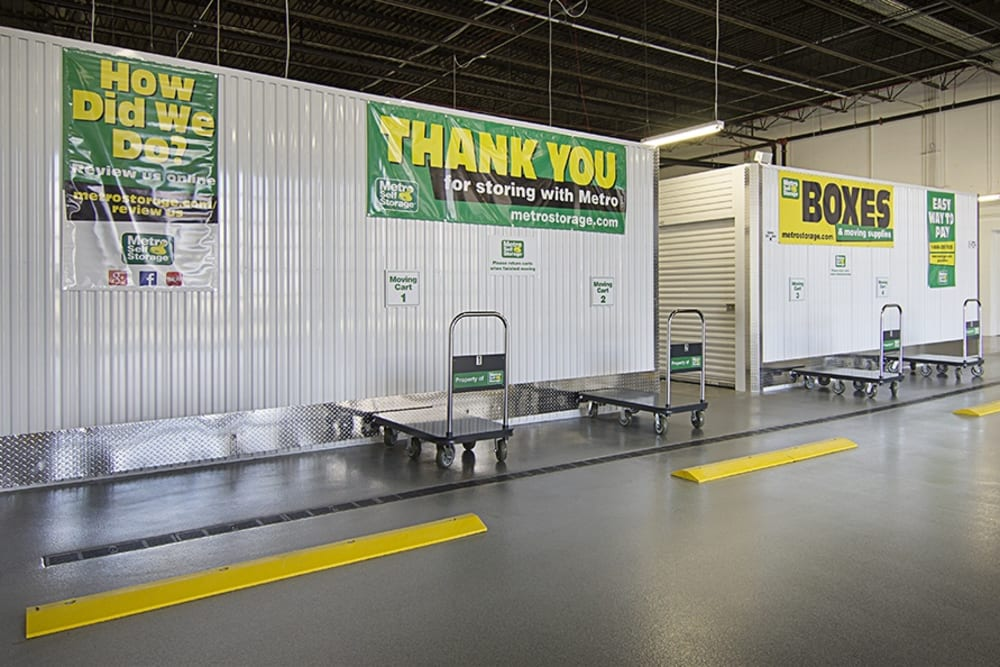 Metro Self Storage Wheeled Carts