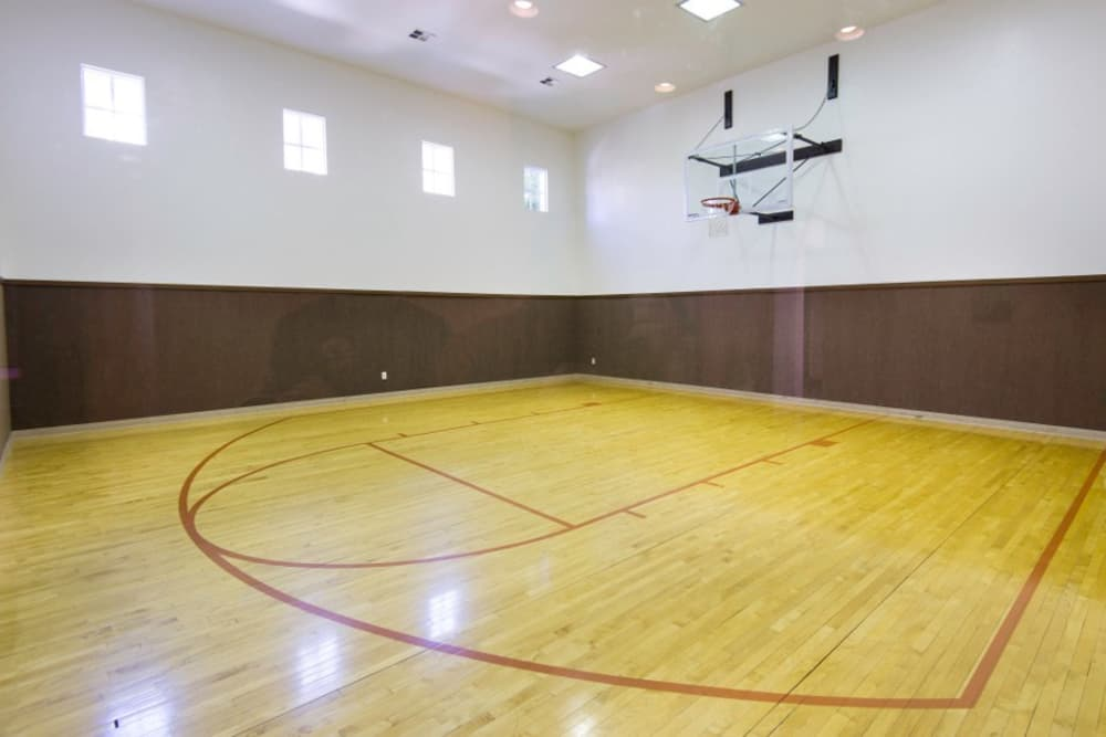 Basketball Court at Irving Schoolhouse Apartments in Salt Lake City, UT