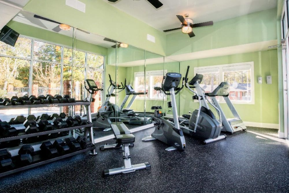 Fitness center at The Marquis Perimeter Center in Atlanta, The Marquis Perimeter Center