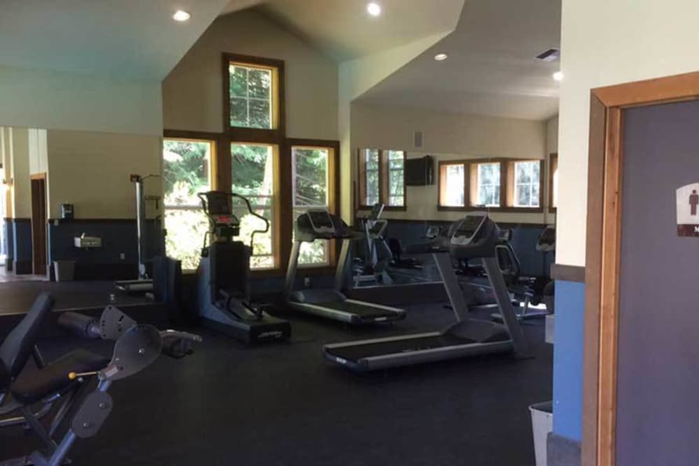 The community fitness center