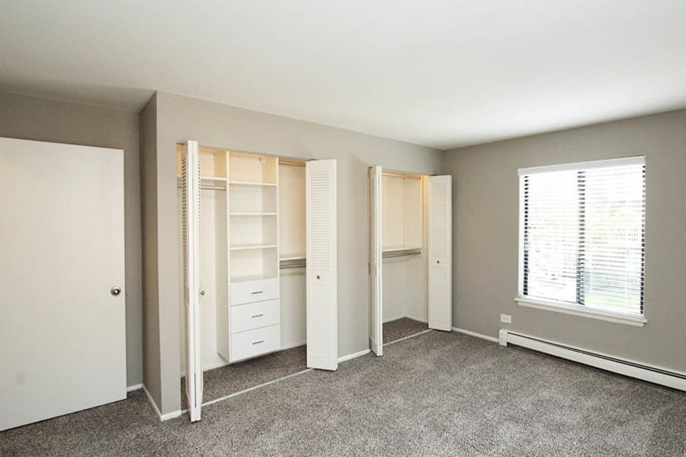 Closet With Built Ins At Lakeside Apartments