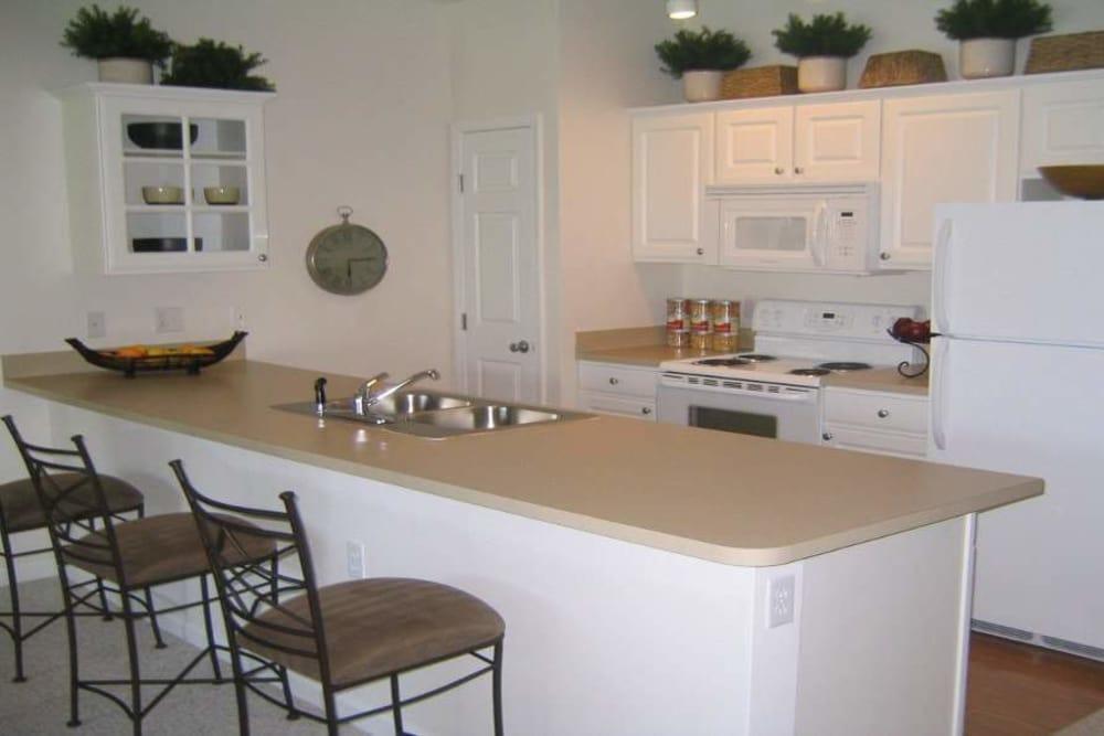 Full-equipped kitchen at Preston Gardens in Perrysburg