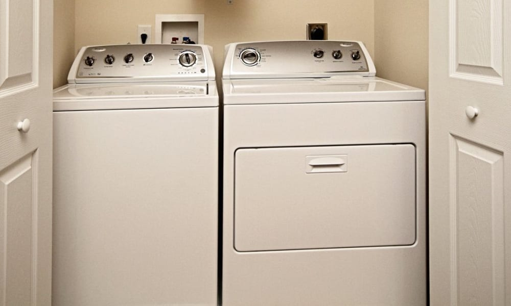 Laundry area at The Village of Laurel Ridge in Harrisburg, Pennsylvania