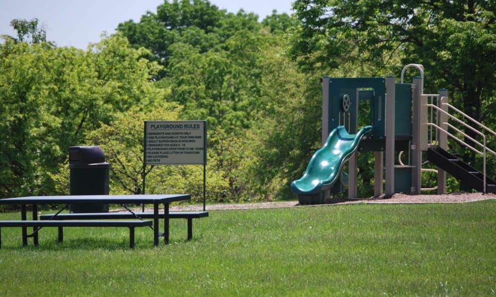 Great playground at The Village of Laurel Ridge in Harrisburg, Pennsylvania