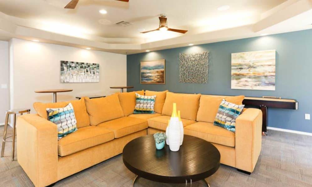 Seating at Tresa at Arrowhead Apartments in Glendale, AZ