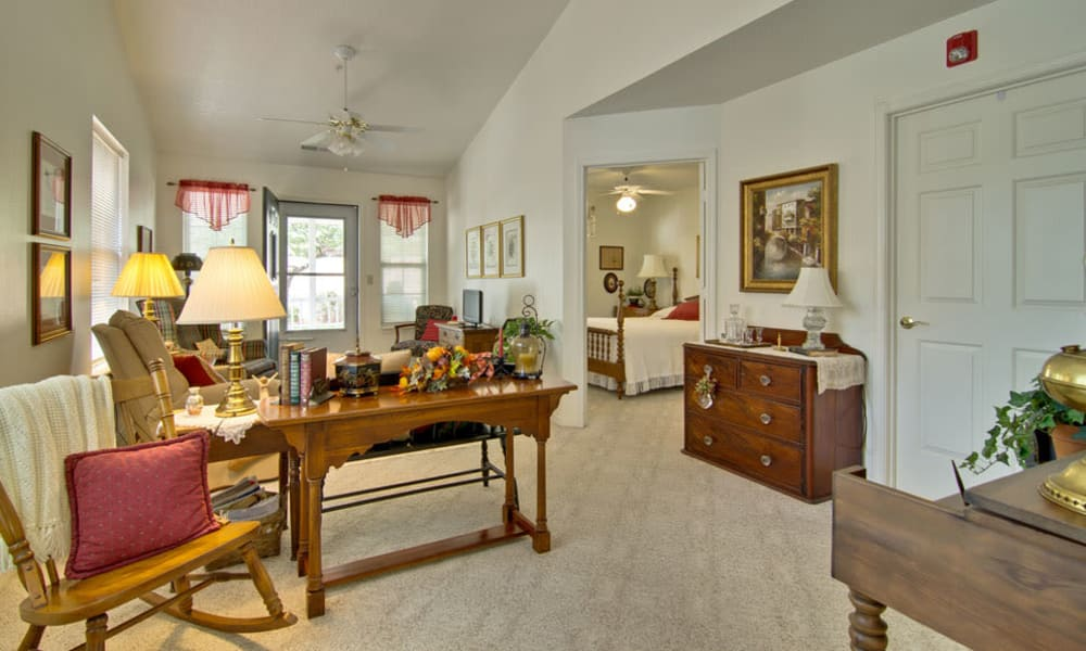 Model Apartment at Teal Lake Senior Living in Mexico, Missouri