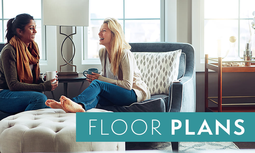 View floor plans at Woodland Apartments in Olympia, WA