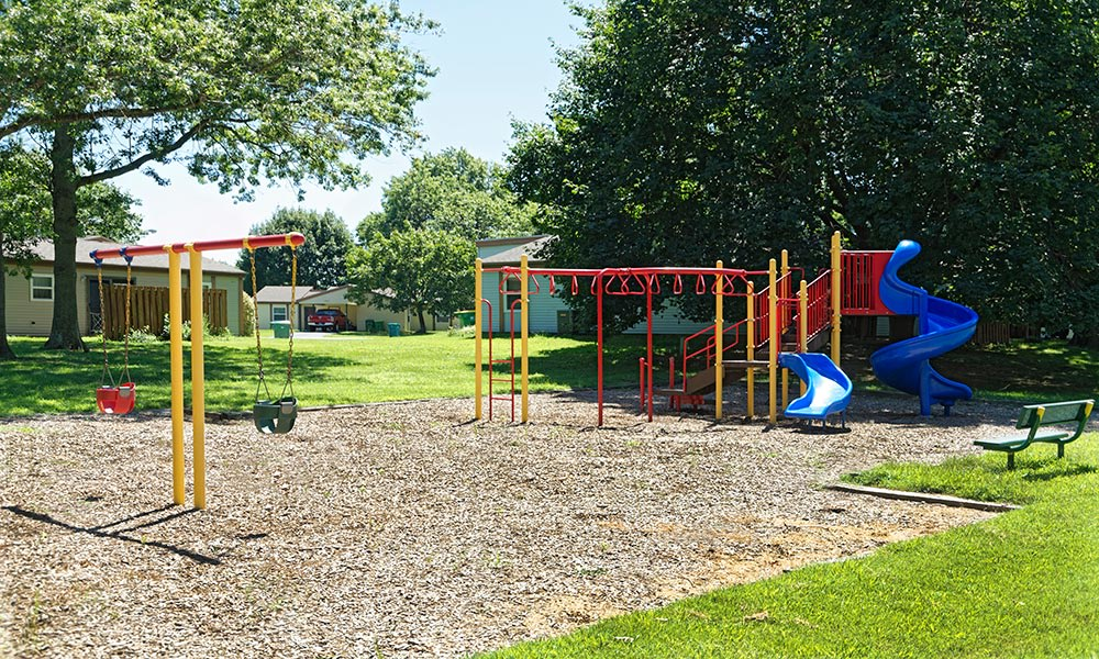 Playground at Eagle Meadows Apartments in Dover