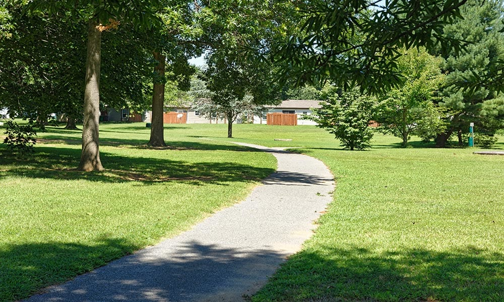Pathway at Eagle Meadows Apartments in Dover