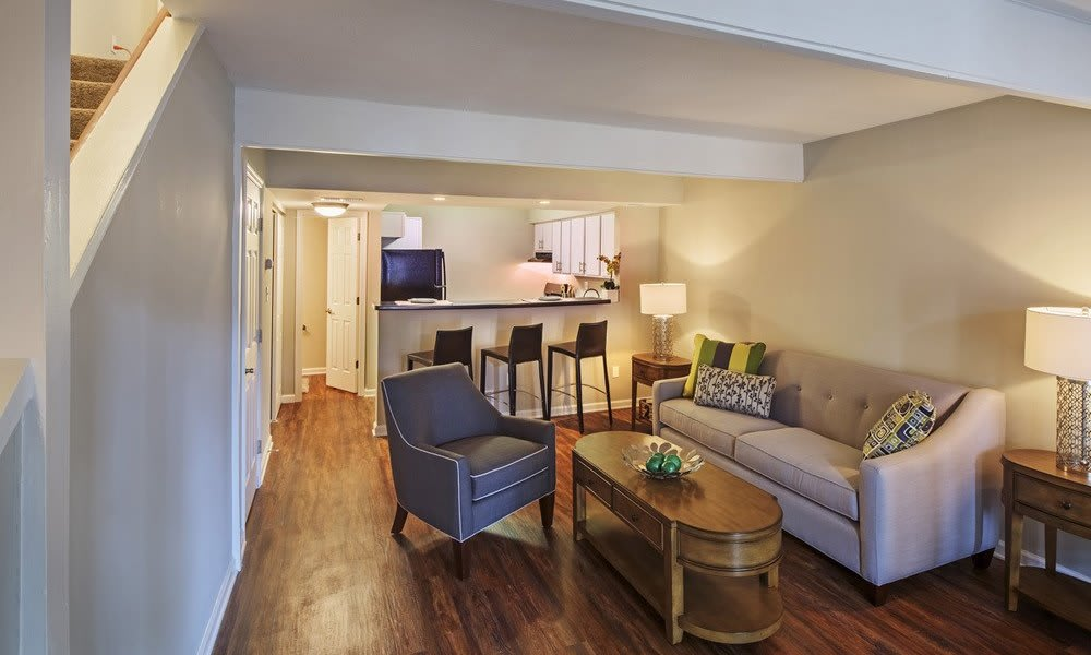 Spacious floor plans at Nineteen North Apartments in Pittsburgh