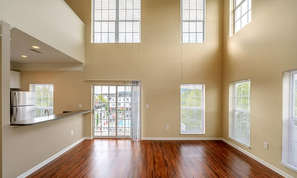 Spacious floor plans at the apartments for rent in Munhall