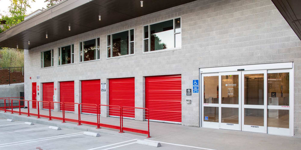 Indoor climate controlled units at StorQuest Self Storage in Walnut Creek, California