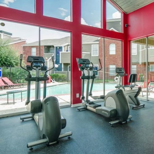 View virtual tour for our fitness center at Aurora Place in Houston, Texas