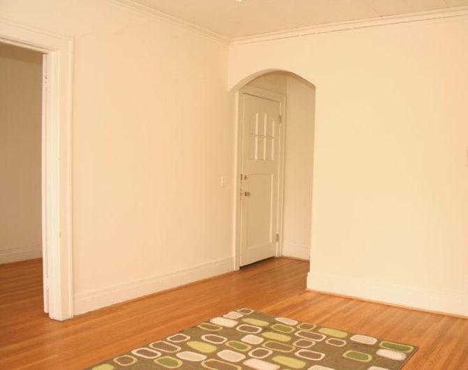 Front door at Parkwin Apartments