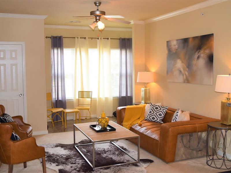 Interior apartment model at Lexington Park Apartment Homes