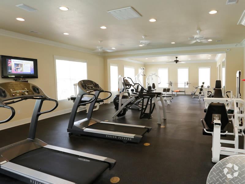 Get buff at Lexington Park Apartment Homes