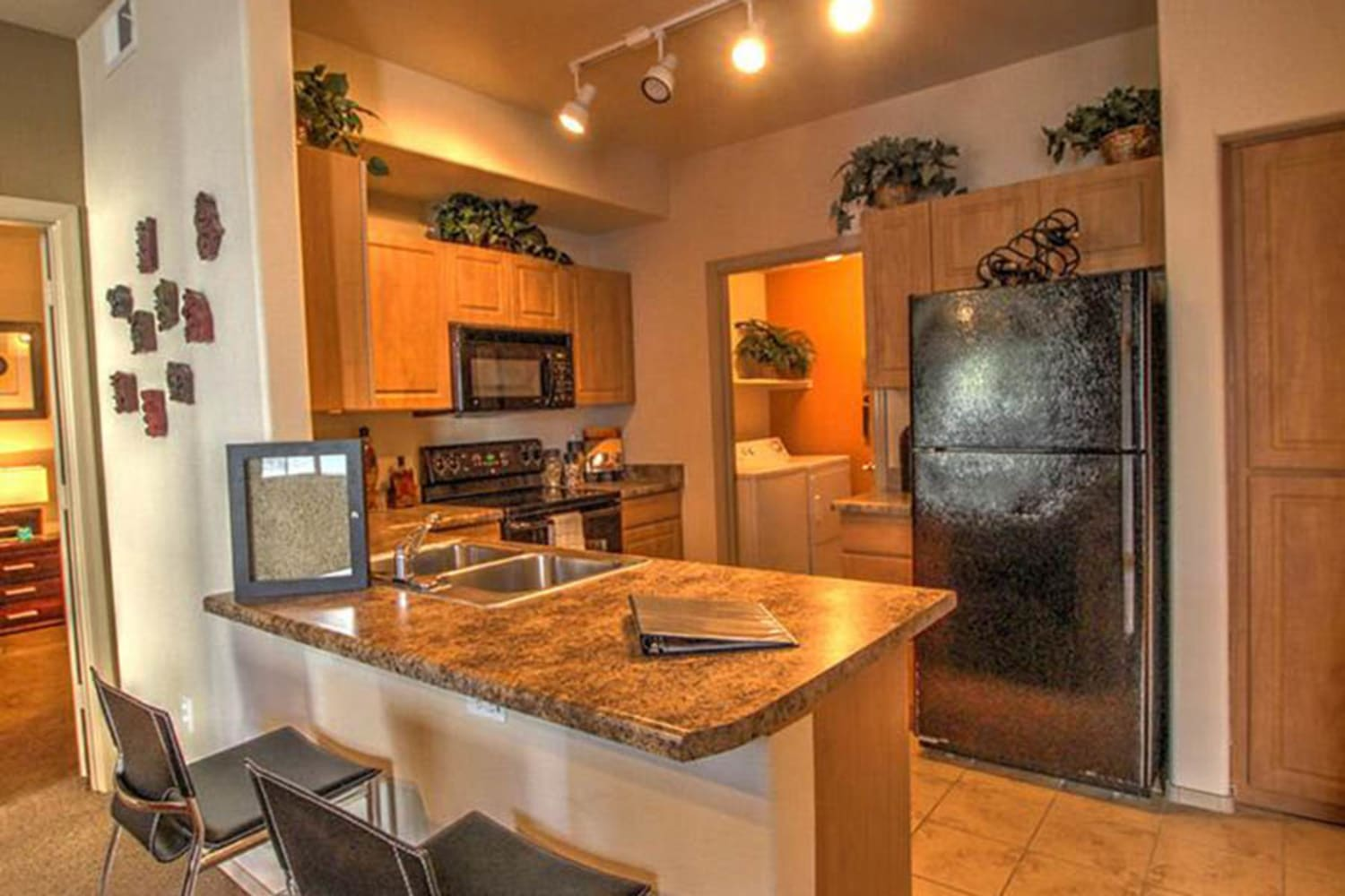 Enjoy a large kitchen at Dobson 2222 in Chandler, Arizona