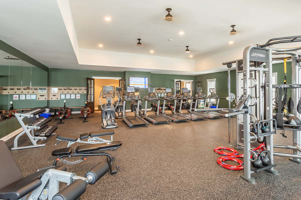 Our townhomes in Liverpool, New York have a state-of-the-art fitness center