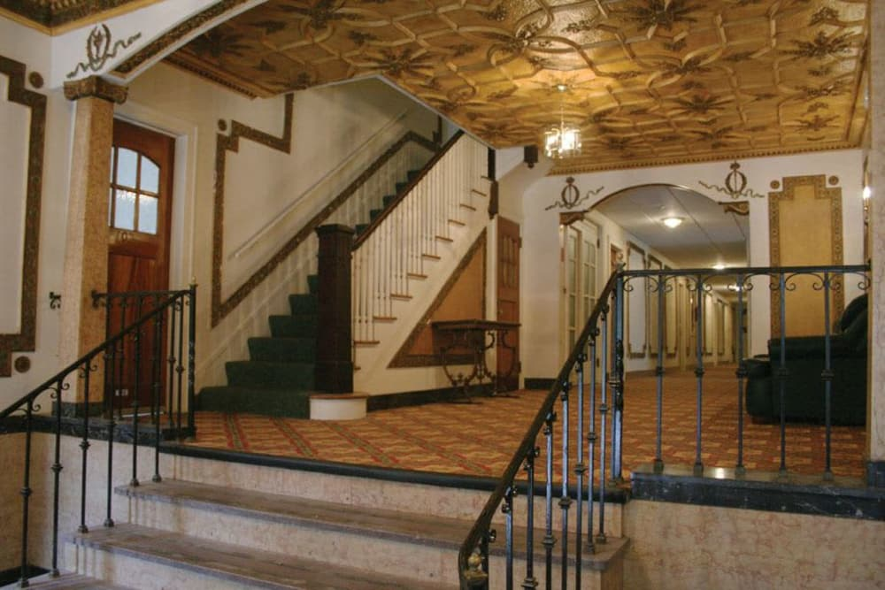 Lobby entrance at Parkwin Apartments