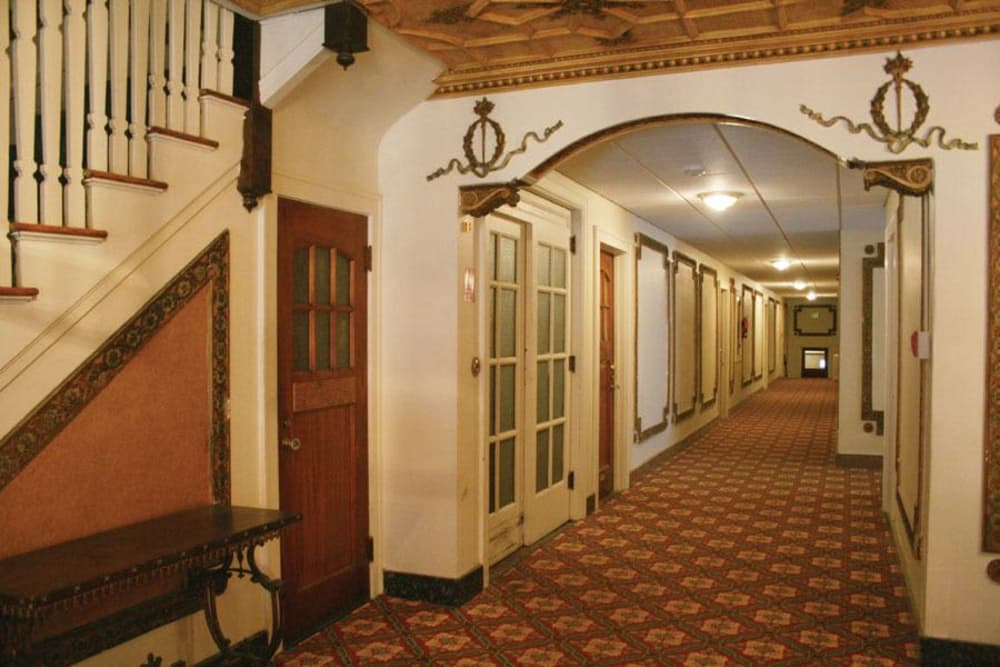 Internal hall at Parkwin Apartments