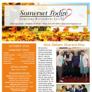 October Somerset Lodge Newsletter