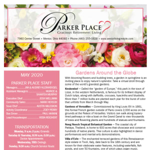 MayParker Place newsletter