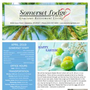 April Somerset Lodge Newsletter