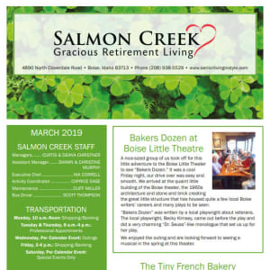 March Salmon Creek Newsletter