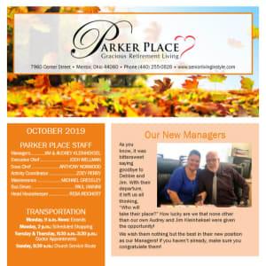 January Parker Place Newsletter
