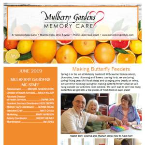 June Mulberry Gardens Memory Care Newsletter