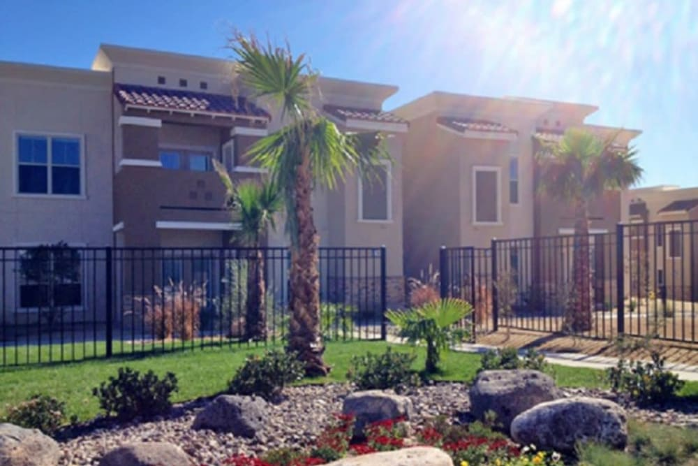 Exterior of Sonoma Palms in Las Cruces, New Mexico