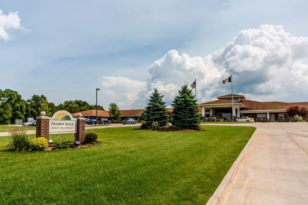 Exterior view of Prairie Hills Clinton in Clinton, Iowa