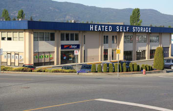 Budget Self Storage in Nanaimo on Kenworth Road