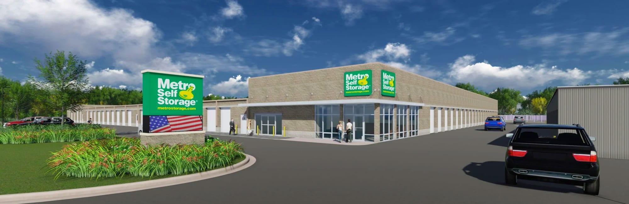 Metro Self Storage in Mount Laurel, New Jersey