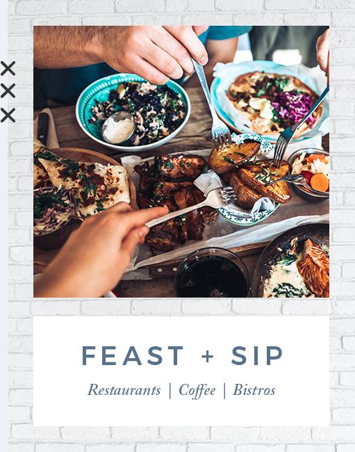 Feast and sip near EVIVA Midtown in Sacramento, California