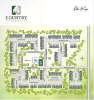 Printable site map of Country Ridge in Saginaw, Michigan