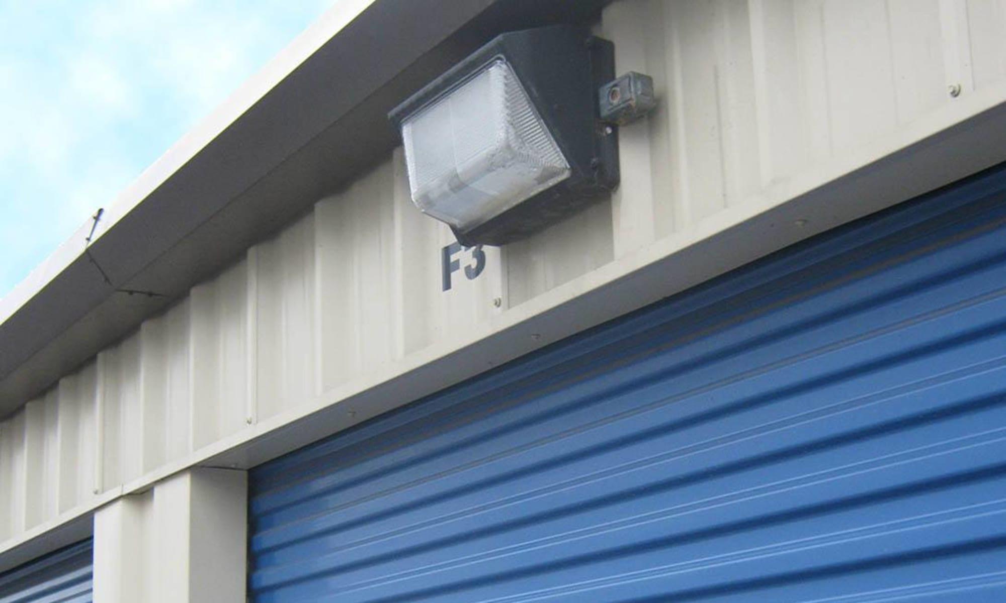 Security lighting at Virginia Varsity Storage in Salem, Virginia