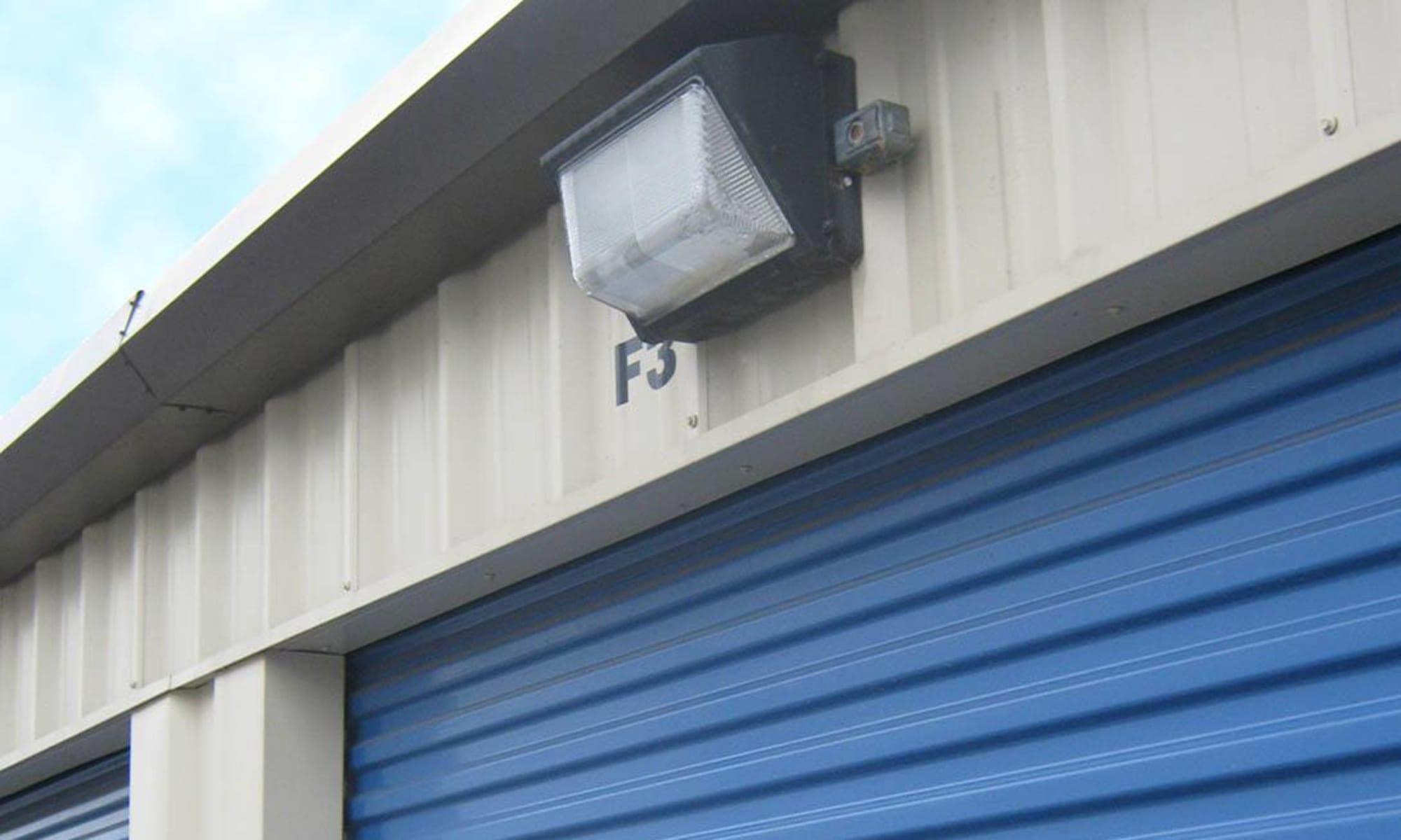 Security lighting at Virginia Varsity Storage in Roanoke, Virginia