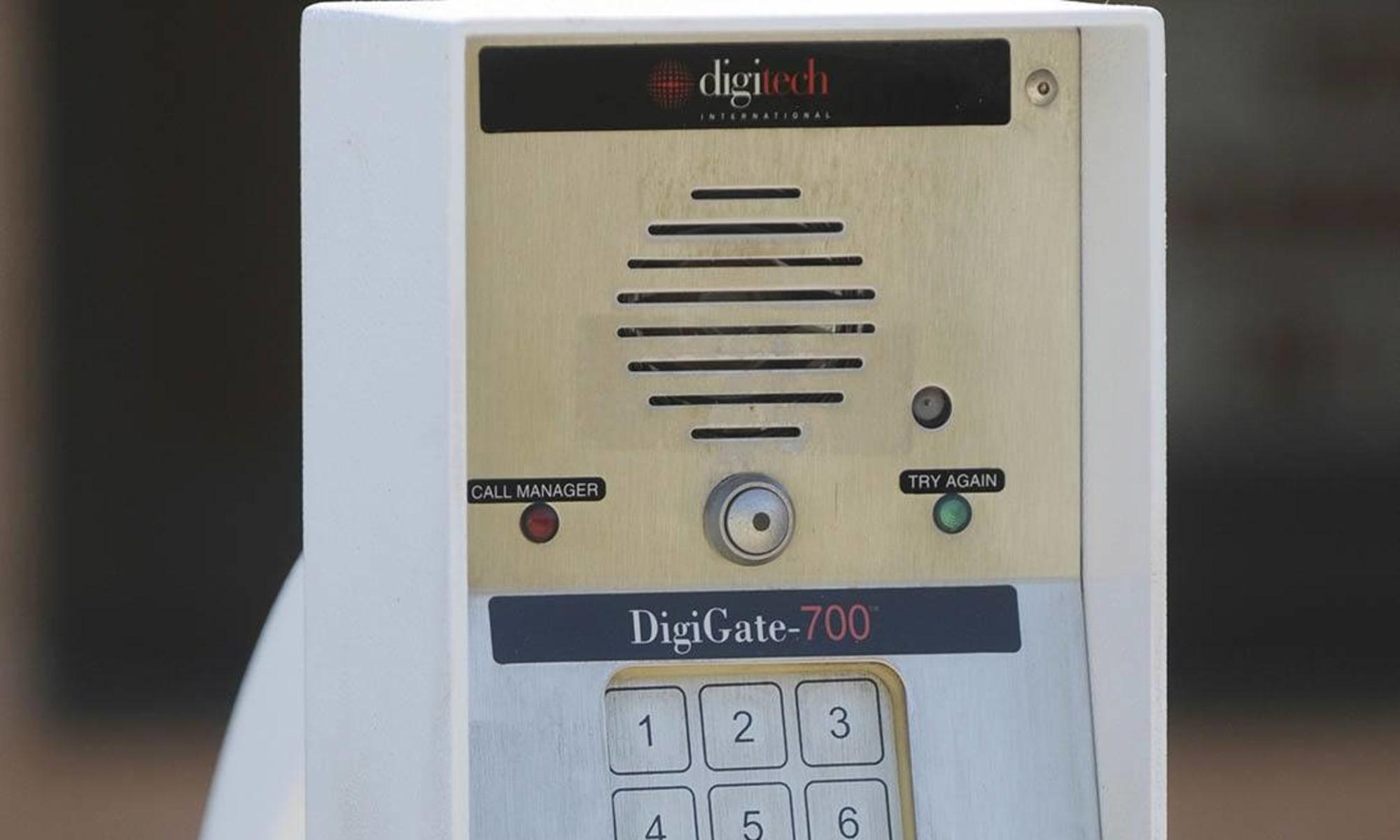 Keypad access at Virginia Varsity Storage in Christiansburg, Virginia